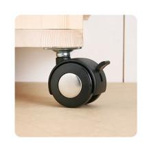 [문고리닷컴] 캐스터-001 (논스톱,스톱) 가구부속/가구바퀴/캐스터/바퀴