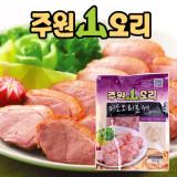 주원산오리 미소오리훈제슬라이스500g 5팩 / 야외용 / 캠핑용 / 업소용