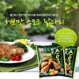 하림 허브맛 스모크닭다리 75g×5봉 / 허브를 입혀 향까지 더한제품