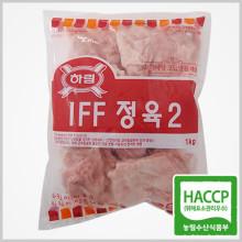 하림 IFF 정육(2) 1kg / 껍질있고 뼈없는 닭다리살 닭갈비 주재료