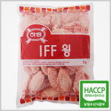 하림 IFF 냉동 윙 1kg / 피부미용에 좋은 콜라겐이 풍부한 닭아랫날개