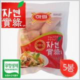하림 자연실록 무항생제 IFF 닭가슴살 800g×5봉 / 친환경 무항생제 제품