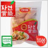 하림 자연실록 무항생제 IFF 닭가슴살 800g×10봉 / 친환경 무항생제 제품