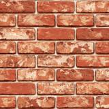 [문고리닷컴] 21456 벽돌 포인트시트지 스티커/시트지/필름지/보호/데코