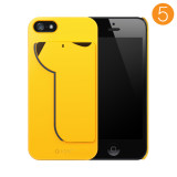 iPUP iPhone 5/5S case&card holder_YELLOW