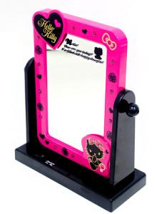 직수입 오리지널 헬로키티 LED스탠드 거울