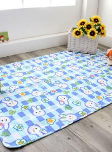 [천사몽] 유아동 줄패드 90x140cm 아동패드 어린이집 낮잠패드