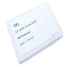[TP] 티피원 TPM2518 miniSATA(mSATA) to SATA 변환케이스 SATA3 완벽지원 msata sata 어댑터