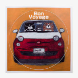 일본 직수입-트래블 스티커 -Bon Voyage (ステッカー/Bon Voyage)