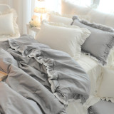 몽비쥬 그레이프 침대커버세트