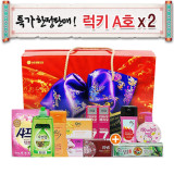 LG생활건강 선물세트 럭키 A호 X 2세트/선물세트 (LG선물세트)