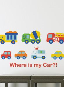 [Pongca] Where is my car