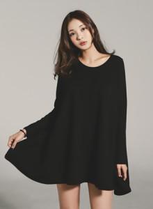 [코코베른&무료배송]OPF908-Anna A라인 OPS/미니원피스/심플/데일리룩/루즈핏/이너원피스