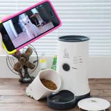 펫스테이션 - 스마트폰으로 강아지(애견)/고양이와 영상통화하는 자동급식기/고화질 카메라 화상통화/24시간 강아지(애견), 고양이를 돌보는 반려동물 자동 급식기