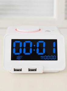 무아스 C1 Multi Alarm Clock 홈타임 C1 다기능 알람클락 /시계+멀티충전