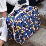 [바닐라슈] 라이블리 마우스 스퀘어 빅백(3color)