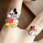 [바닐라슈] 헬로우미키 반지(3color)/디즈니정품