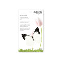 Butterfly Sticky Notes 로쿠스타나비 (Medium)