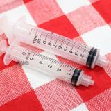 루어락(무침) 주사기 5cc - 새끼용 초유와 분유/이유식급여주사기/비타민영양제급여시