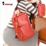 여성 크로스백 P9044 / 학생 여행용 메신저백 슬링백 어깨가방