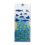 해중산보 마스코트 스티커 :: 고래상어x박스피쉬x거북이