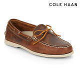 콜한 보트슈즈 Cole Haan Dominick Leather Boat Shoes(Men)