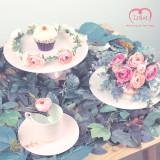 아프로디테 / 셀프 웨딩 조화 화관 - 핑크 라넌큘러스