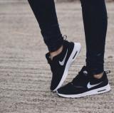 [여성용] 나이키 에어 맥스 테아 검흰 / Nike Air Max Thea / 599409-007 / 브랜드믹스