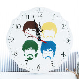 [Beatles] 비틀즈 4색 캐릭터 벽시계 - 무소음 벽걸이 시계 / 집들이선물 / 북유럽감성