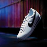 나이키 코르테즈 화이트/남성용/Nike Cortez White/Black/Metallic Silver /브랜드믹스