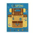 스트리트H_인포그래픽포스터-캠핑