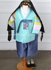 색동한복,유아돌한복,남아용한복,한복애기,한복아기 [H.5434]