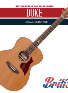 브리티시 DUKE350 기타 / 탑솔리드