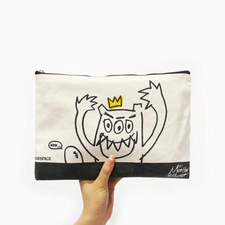[위알낫몬스터즈]몬스터 패브릭 파우치 - Monster fabric pouch