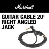 MARSHALL GUITAR CABLE 20' RIGHT ANGLED JACK - 마샬 기타 케이블 약 6미터