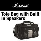 MARSHALL Tote Bag with Built in Speakers 마샬의 스피커가 장착된 토트백