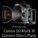 캐논 EOS 5D Mark3 카메라스킨 L 플레이트 (Black)