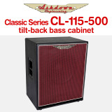 Ashdown Classic Series CL-115-500 tilt-back bass cabinet