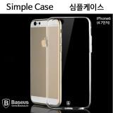 베이스어스 아이폰6s/6용 심플 투명 케이스