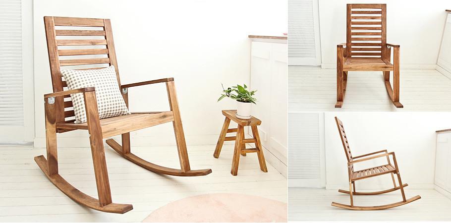 흔들의자/원목의자
