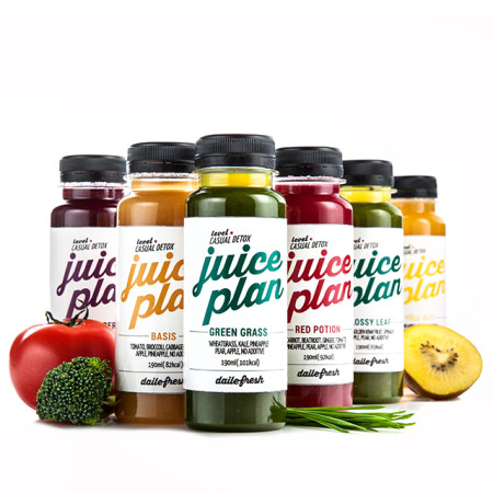 [클렌즈주스] JUICE PLAN 1-DAY CLEANSE (12병)