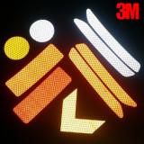 3M 초고휘도 반사테이프 형광광각 반사지 리플렉터