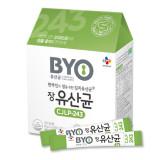 [신제품] CJ BYO 장유산균 CJLP243 / 한국인의 장을 위한 김치유산균, 프로바이오틱스 / 입에 털어 바로 먹는 유산균 분말 타입