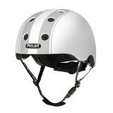 BMX 헬멧하면 [MELON] 스트라이프 (디센트 더블그레이-무광)[당일배송] 훈바