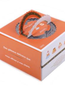 케익박스 1호 (별시리즈) (케익상자/케익박스/케익포장/cake box)