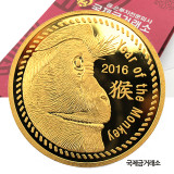 2016년 원숭이해 골드코인 37.5g 순금 999.9%