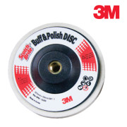 3M 100mm 양모 옵셋/양모옵셋/옵셋/절단석/연마재/연마석/광택제디스크/광택디스크