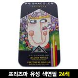 유성 색연필 24색 전문가용 비밀의정원