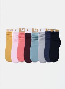 [임블리]수줍은소녀처럼양말[8co]/패션양말/컬러양말/무지/스니커즈양말