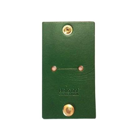 가죽 케이블&이어폰 홀더(Green)(무료배송)그린